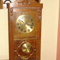 Ceas de perete cu pendul - GENFA -Junghans - Pendula