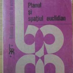 Planul Si Spatiul Euclidian - Dan Branzei Sebastian Anita Constantin Cocea, 390253 - Carte Matematica