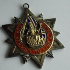 Medalie de argint -Anglia cu email -848, Europa