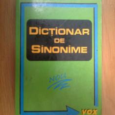 G1 DICTIONAR DE SINONIME - L . SECHE - Dictionar sinonime