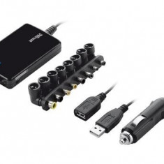 TRUST 70W Thin Laptop & Phone Charger for car use