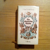 DIE DEUTSCHE KUCHE - Horst Scharfengerg - Hallwag Verlag Bern und Stuttgart,1980