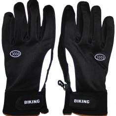 Manusi ciclism Crane Biking, sezon rece, unisex, marimea 9(L)