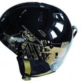 Casca Ski Spartan Helm Negru - Ocru