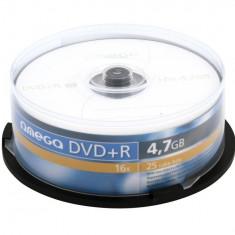Omega DVD+R 4.7GB 16x CAKE 25 - Bucatarie standard