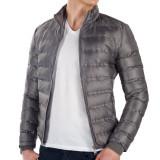 Geaca Pufoaica Barbati marca DanyParis XL - Geaca barbati, Culoare: Gri