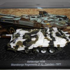 Macheta tanc Stridsvagn 103B - Sweden - 1977 scara 1:72