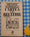 Carte de recitire Nichita Stanescu