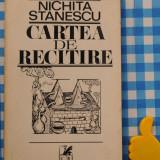 Carte de recitire Nichita Stanescu - Carte poezie