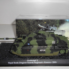 Macheta tanc Challenger 2 - Kosovo  - 2003 scara 1:72