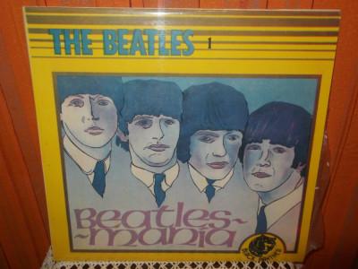 -Y- THE BEATLES 1 - BEATLES MANIA DISC VINIL LP foto
