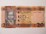 Sudanul de Sud/South Sudan 20 Pounds 2015 UNC