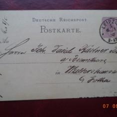1883 Germania ( Reich ) - CP circulata.