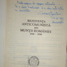 Rezistenta armata anticomunista din muntii Romaniei - Cicerone Ionitoiu dedicati - Istorie