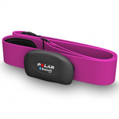 Polar H7 HR Sensor WearLink Bluetooth, centura pentu ritm cardiac- pink - Monitorizare Cardio