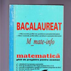 MATEMATICA -BACALORIAT - Teste Bacalaureat Altele