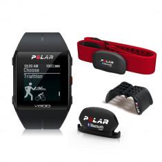 Polar V800 BLK Combo Special Edition HR multisport + H7 centura ritm cardiac - Monitorizare Cardio