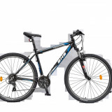 Bicicleta Mountain Bike Hardtail Terrana 2923 - model 2015 29''-Negru-Rosu-Cadru 457 mm
