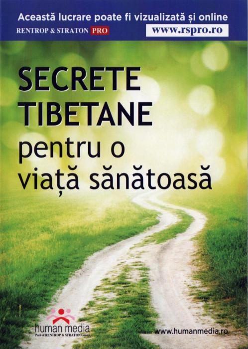 SECRETE TIBETANE pentru o viață sănătoasă