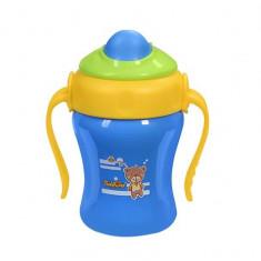 Canita cu pai pentru copii BabyOno 1036 220 ml - Cana bebelusi