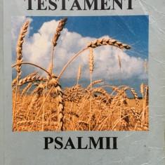NOUL TESTAMENT - PSALMII - Biblia