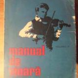 Manual De Vioara Vol.2 - Ionel Geanta, George Manoliu, 390471 - Carte Arta muzicala