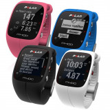 Polar M400 HR GPS ceas multisport + H7 centura ritm cardiac