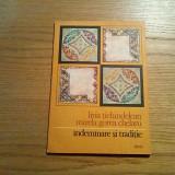 INDEMANARE SI TRADITIE - Livia Tichindelean - Editura Dacia, 1983, 19p.+ XX pl.