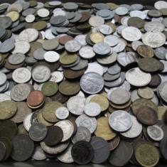Lot (3) mare 1000 monede vechi romanesti si straine, monezi bani diverse tari - Moneda Romania