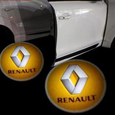 Sigla LED auto logo marca Renault.Emblema auto LED 7W Cree.Holograma
