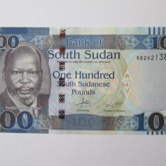 Sudanul de Sud/South Sudan 100 Pounds 2015 UNC