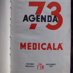 001 AGENDA MEDICALA 1973