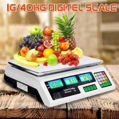 Cantar ELECTRONIC PIATA MAGAZIN Digital Afisaj Dublu 40 kg - Cantar comercial