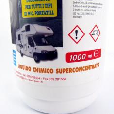 Lichid dezinfectatnt si dezodorizant- concentrat - pt toaleta portabila
