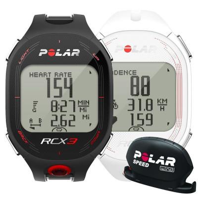 Polar RCX3 Bike ceas masurare ritm cardiac (Speed) foto