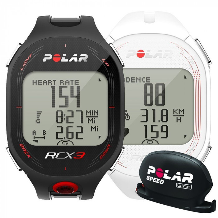 Polar RCX3 Bike ceas masurare ritm cardiac (Speed) foto mare