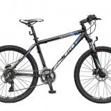 Bicicleta Mountain Bike Hardtail DHS Terrana 2627 - model 2015 26''-Negru-Albastru-495 mm