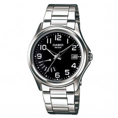 Ceas Casio barbati analog bratara argintiu MTP 1369 - Ceas barbatesc Casio, Casual, Quartz, Otel, 50 m / 5 ATM