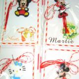 Set 10  Martisoare - figurina Disney din silicon  MARTISOARE -modele mixte