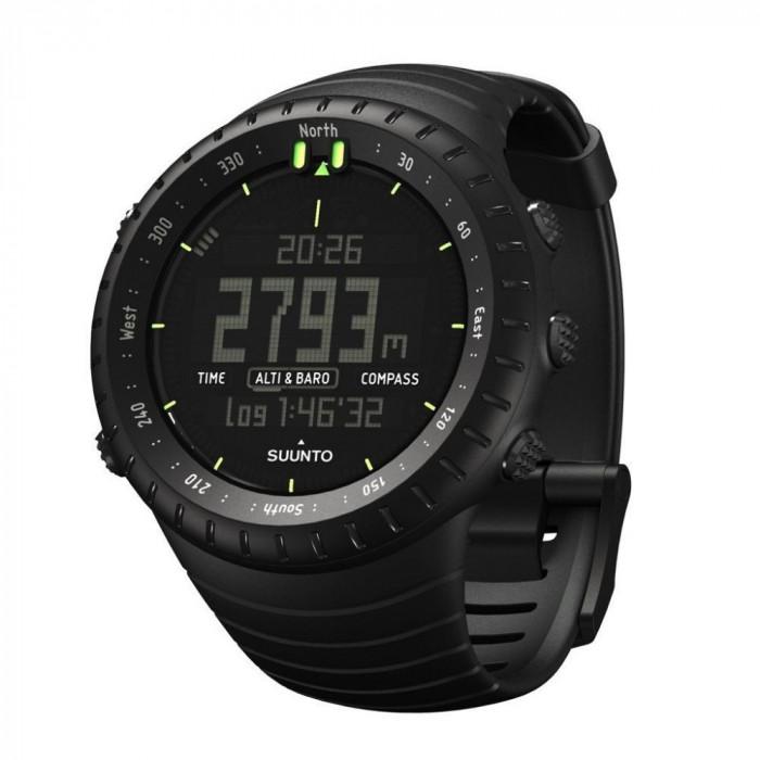 Suunto Core All Black – ceas outdoor pentru activități în aer liber
