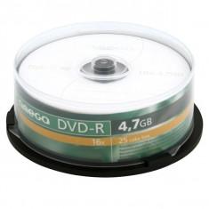 Omega DVD-R 4.7GB 16x CAKE 25 - Bucatarie standard