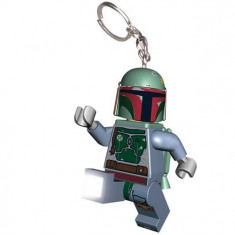 Breloc Cu Lanterna Lego Boba Fett (Lgl-Ke19) - Breloc copii