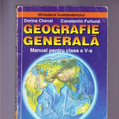 GEOGREFIE GENERALA CLASA -5 -A - Carte Cultura generala Altele