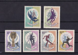 ROMANIA 1966 , LP 627 ,  CAMPIONATUL MONDIAL DE FOTBAL ANGLIA  SERIE MNH, Nestampilat