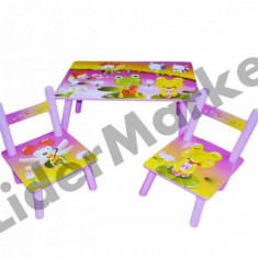 Masuta si scaune pentru copii 2547-38 - Masuta/scaun copii