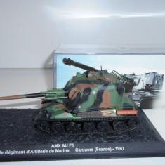 Macheta tanc AMX AU F1 - France - 1997 scara 1:72