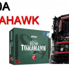 Placa de baza MSI Socket LGA1151, Z170A TOMAHAWK, Intel Z170, 4*DDR4 2133/3600(OC), DVI/HDMI, 2*PCIEx16, 3*PCI-Ex1 2*PCI, 6*SATA6, 2*M.2, 4 bulk, Altul, ATX