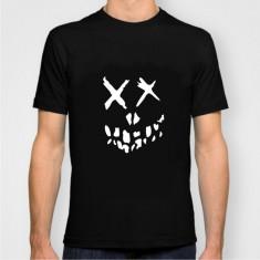 Tricou unisex suicide squad harley quinn joker model 2017 - Tricou barbati, Marime: M, L, XL, XXL, Culoare: Alb, Negru, Maneca scurta, Bumbac
