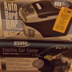 Lada termoelectrica EZetil E6L, 12V functia de incalzire-racire - Lada frigorifica auto Top Car