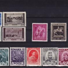 ROMANIA 1938, LP 128, CENTENARUL NASTERII REGELUI CAROL SERIE MNH - Timbre Romania, Nestampilat